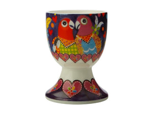 MW LOVE HEARTS EGG CUP LOVE BIRDS