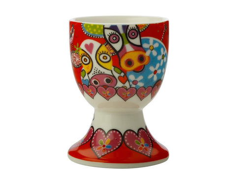 Maxwell & Williams Love Hearts Egg Cup Happy Moo Day - ZoeKitchen