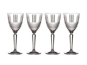 MW VERONA WINE GLASS 180ML SET OF 4 GIFT BOXED