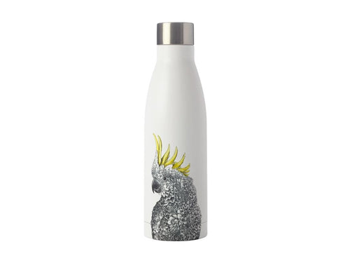 Maxwell & Williams Marini Ferlazzo Double Wall Insulated Bottle 500ml Cockatoo - ZOES Kitchen