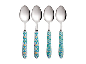Maxwell & Willams Teas & C's Kasbah Teaspoon Set Of 4 Mint Gift Boxed - ZOES Kitchen