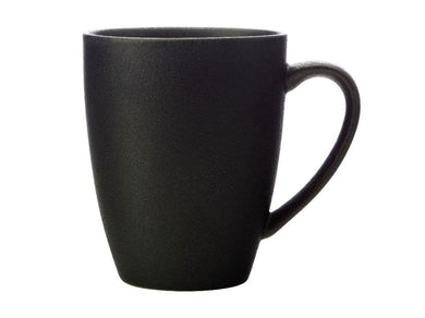 Maxwell & Williams Caviar Coupe Mug 400ml Black - ZOES Kitchen