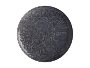 Maxwell & Williams Panama Round Platter 36cm Grey Gift Boxed