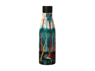 Maxwell & Williams Melanie Hava Jugaig-Bana-Wabu Double Wall Insulated Bottle 500ML Cassowaries - ZOES Kitchen
