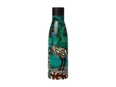 Maxwell & Williams Melanie Hava Jugaig-Bana-Wabu Double Wall Insulated Bottle 500ML Cassowaries Home - ZOES Kitchen