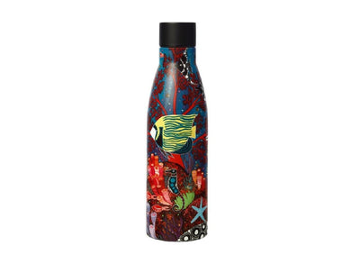 Maxwell & Williams Melanie Hava Jugaig-Bana-Wabu Double Wall Insulated Bottle 500ML Reef Wonderland - ZOES Kitchen