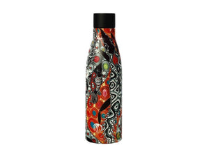 Maxwell & Williams Melanie Hava Jugaig-Bana-Wabu Double Wall Insulated Bottle 500ML Crocodiles - ZOES Kitchen