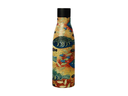 Maxwell & Williams Melanie Hava Jugaig-Bana-Wabu Double Wall Insulated Bottle 500ML River Life - ZOES Kitchen