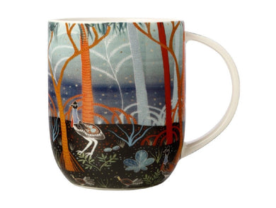 Maxwell & Williams Melanie Hava Jugaig-Bana-Wabu Mug 440ML Cassowaries GB - ZOES Kitchen