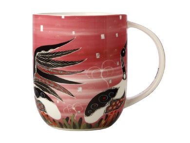 Maxwell & Williams Melanie Hava Jugaig-Bana-Wabu Mug 440ML Jabirus Pink GB - ZOES Kitchen