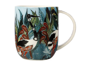 Maxwell & Williams Melanie Hava Jugaig-Bana-Wabu Mug 440ML Jabirus Blue GB - ZOES Kitchen