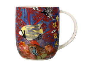 Maxwell & Williams Melanie Hava Jugaig-Bana-Wabu Mug 440ML Reef Wonderland GB - ZOES Kitchen