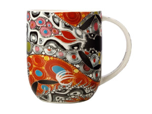 Maxwell & Williams Melanie Hava Jugaig-Bana-Wabu Mug 440ML Crocodiles GB - ZOES Kitchen
