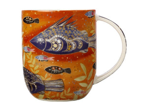 Maxwell & Williams Melanie Hava Jugaig-Bana-Wabu Mug 440ML River Life GB - ZOES Kitchen