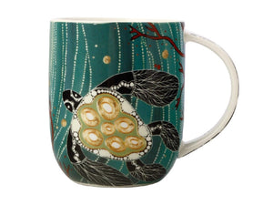 Maxwell & Williams Melanie Hava Jugaig-Bana-Wabu Mug 440ML Turtles GB - ZOES Kitchen