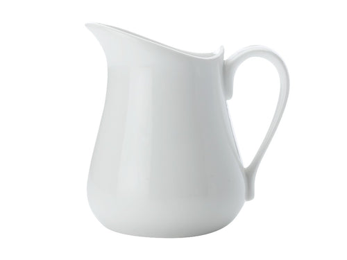 maxwell & williams white basics milk jug 320ml - ZoeKitchen