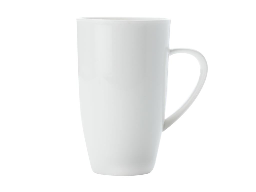 Maxwell & Williams White Basics Hi Coup Mug Large 600ml - ZoeKitchen