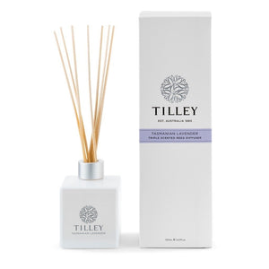 Tilley Classic White - Reed Diffuser 150 Ml - Tasmanian Lavender - ZoeKitchen