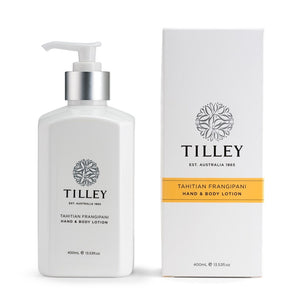 TILLEY CLASSIC WHITE - BODY LOTION 400ML - TAHITIAN FRANGIPANI