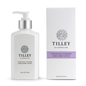 TILLEY CLASSIC WHITE - BODY LOTION 400ML - TASMANIAN LAVENDER