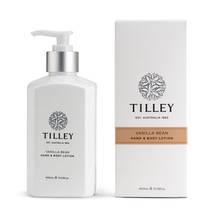 TILLEY CLASSIC WHITE - BODY LOTION 400ML - VANILLA BEAN