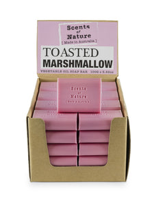 TILLEY SCENTS OF NATURE - SOAP BARS 100G - TOASTED MARSHMELLOW