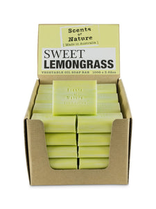 TILLEY SCENTS OF NATURE - SOAP BARS 100G - SWEET LEMONGRASS