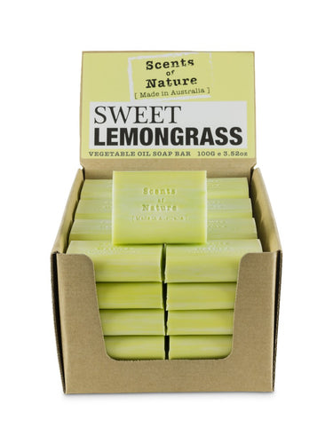 Tilley Scents Of Nature - Soap Bars 100g - Sweet Lemongrass - ZoeKitchen
