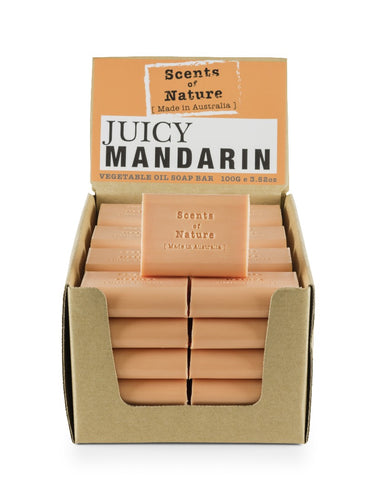 Tilley Scents Of Nature - Soap Bars 100g - Jucie Manderin - ZoeKitchen