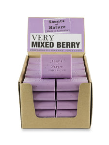 TILLEY SCENTS OF NATURE - SOAP BARS 100G - VERY MIXED BERRY