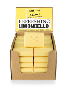 TILLEY SCENTS OF NATURE - SOAP BARS 100G - REFRESHING LIMONCELLO