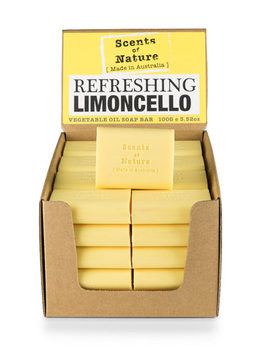 Tilley Scents Of Nature - Soap Bars 100g - Refreshing Limoncello - ZoeKitchen