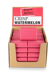 TILLEY SCENTS OF NATURE - SOAP BARS 100G - CRISP WATERMELON