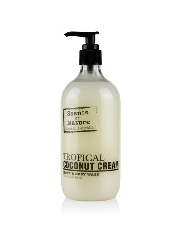 tilley scents of nature - body lotion 500ml - tropical coconut cream - ZoeKitchen