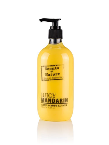 TILLEY SCENTS OF NATURE - BODY LOTION 500ML - JUICY MANDARIN