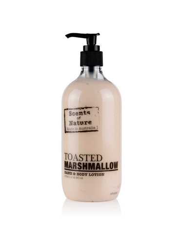 TILLEY SCENTS OF NATURE - BODY LOTION 500ML - TOASTED MARSHMALLOW