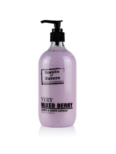 TILLEY SCENTS OF NATURE - BODY LOTION 500ML - VERY MIXED BERRY