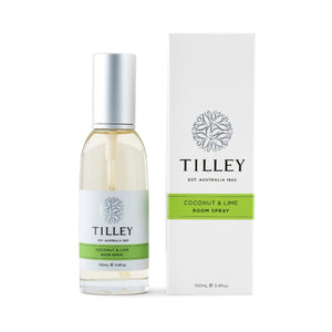 Tilley Classic White - Room Spray 100ml - Coconut & Lime - ZOES Kitchen