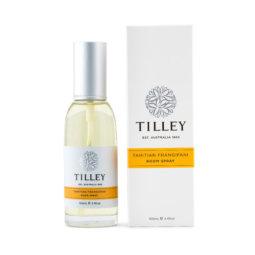 Tilley Classic White - Room Spray 100ml - Tahitian Frangipani - ZoeKitchen