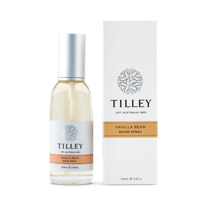 Tilley Classic White - Room Spray 100ml - Vanilla Bean - ZoeKitchen