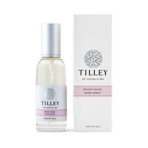 Tilley Classic White - Room Spray 100ml - Peony Rose - ZoeKitchen