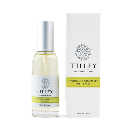 Tilley Classic White - Room Spray 100ml - Magnolia & Green Tea - ZoeKitchen