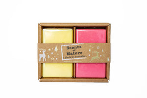 Tilley Scents Of Nature - Duo Soap 2x200g - Limoncello & Watermelon - ZoeKitchen