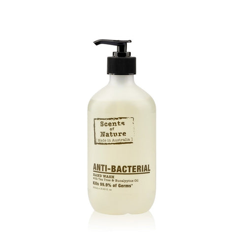 Tilley Scents Of Nature - Anti Bacterial Hand Wash 500ml