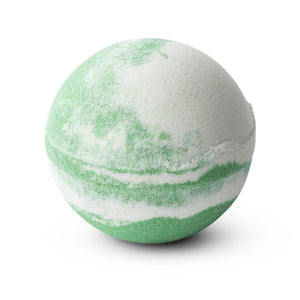 TILLEY CLASSIC WHITE - BATH BOMB SWIRL 150G - COCONUT & LIME