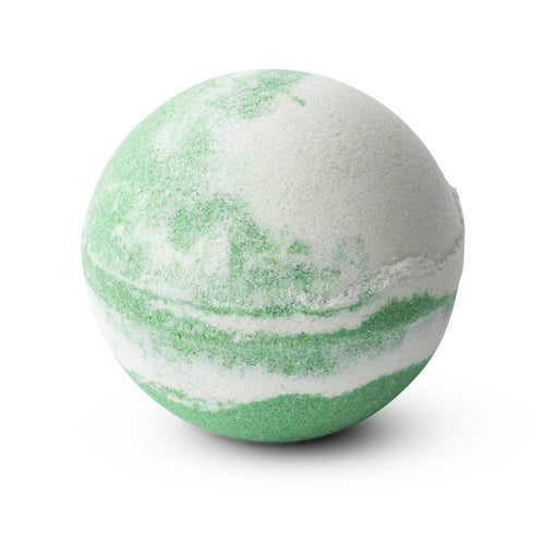 Tilley Classic White - Bath Bomb Swirl 150g - Coconut & Lime - ZoeKitchen