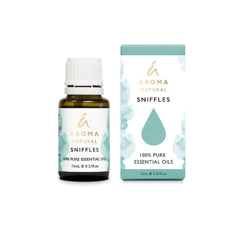 Tilley Aromatherapy Essential Oil Blend 15ml - Sniffles - ZoeKitchen