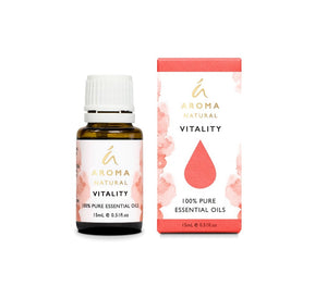 TILLEY AROMATHERAPY ESSENTIAL OIL BLEND 15ML - VITALITY - ZoeKitchen