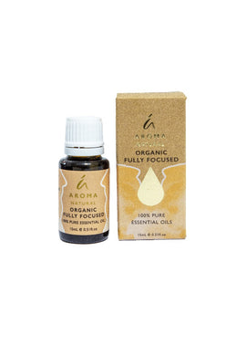 Tilley Aroma Natural - Organic Essential Oil - Fully Focused - ZOES Kitchen