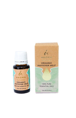 Tilley Aroma Natural - Organic Essential Oil - Hayfever Help - ZOES Kitchen